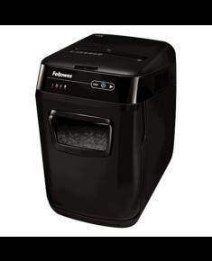 Fellowes Auto Feed Shredder AutoMax 200C Black, 32 L, Paper shredding, Shredding CDs, Credit cards shredding, 60 dB, AccuFeed Technology™