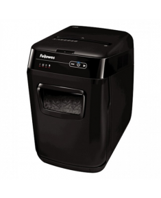 Fellowes Auto Feed Shredder AutoMax 200C Black, 32 L, Paper shredding, Shredding CDs, Credit cards shredding, 60 dB, AccuFeed Technology™