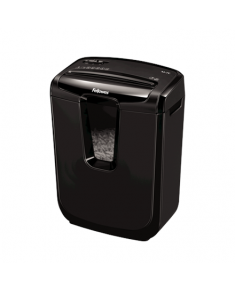 Fellowes Shredder  M-7C Black, 14 L, Paper shredding, Credit cards shredding, Paper handling standard/output Shreds 7 sheets per pass into 4x35mm cross-cut particles (Security Level P-4), Traditional