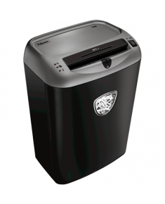 Fellowes Shredder Powerchred 70S Black, 27 L, Paper shredding, Shredding CDs, Credit cards shredding, Paper handling standard/output Shreds 14 sheets per pass into 5.8mm strips (Security Level P-2), Traditional