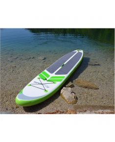 Viamare Inflatable SUP Board, 330 cm, 160 kg, Green, SUP Paddle, 170-210cm