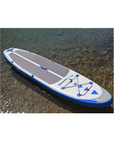 Viamare Inflatable SUP Board, 330 cm, 160 kg, Blue, SUP Paddle, 170-210cm