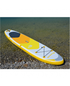 Viamare Inflatable SUP Board, 330 cm, 160 kg, Yellow, with SUP Paddle, 170-210cm