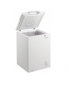Goddess Freezer GODFTE0100WW8 Chest, Height 85 cm, Total net capacity 100 L, A+, Freezer number of shelves/baskets 1, White, Free standing