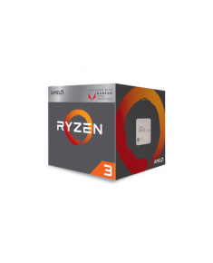 AMD Ryzen 3 2200G, 3.5 GHz, AM4, Processor threads 4, Packing Retail, Cooler included, Component for PC