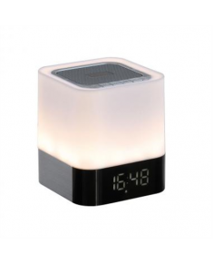 ClipSonic Bluetooth compatible alarm clock LED lamp TES160 Rose Gold, 5 W