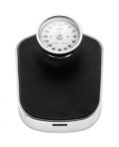 ADE Mechanical Bathroom Scale BM 702 Felicitas  Maximum weight (capacity) 160 kg, Accuracy 100 g, Multiple user(s), Black/ silver