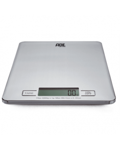 ADE Kitchen Scale KE 874 DENISE Maximum weight (capacity) 5 kg, Graduation 1 g, Display type LCD, Silver