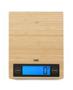 ADE Kitchen Scale KE 1128 RAMONA  Maximum weight (capacity) 5 kg, Graduation 1 g, Display type LCD, Brown