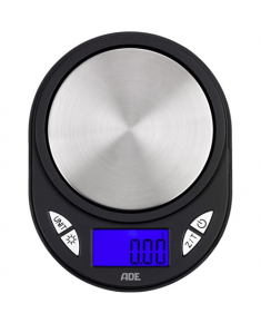 ADE Pocket Scale TE1700 Maximum weight (capacity) 0.11 kg, Accuracy 0,01 g, Black/ silver