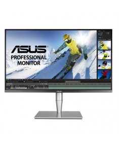"""A Asus ProArt Professional LCD PA32UC-K 32 """", IPS, UHD, 3840 x 2160 pixels, 16:9, 5 ms, 1000 cd/m², Gray, 4K, HDR, direct-LED, 384 Zones Local Dimming, Rec.2020, 95% DCI-P3, Hardware Calibration, Thunderbolt™ 3, Ultra HD Premium™, X-rite i1 Display Pro included"""