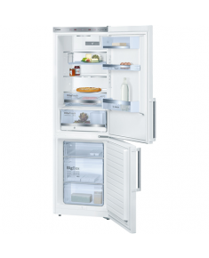 Bosch Refrigerator KGE36BW30 Free standing, Combi, Height 186 cm, A++, Fridge net capacity 214 L, Freezer net capacity 88 L, 38 dB, White