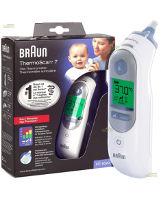 Braun ThermoScan® 7 Age Precision Ear Thermometer IRT6520 Memory function, Measurement time 5 s, White