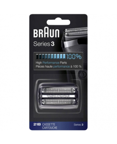 Braun Foil head Kombipack 21B Compatible with Series 3 shavers