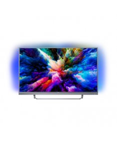 "Philips 49PUS7503/12 49"" (123 cm), Smart TV, UHD Ultra Slim LED, 3840 x 2160 pixels, Wi-Fi, DVB T/C/T2/S/S2, Silver"