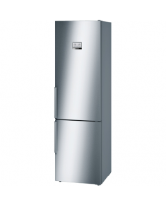 Bosch Refrigerator KGN39AI45 Free standing, Combi, Height 203 cm, A+++, No Frost system, Fridge net capacity 279 L, Freezer net capacity 87 L, 36 dB, Stainless steel