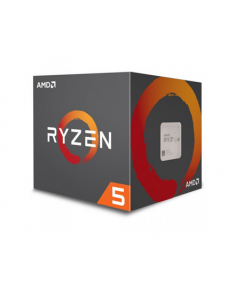 AMD Ryzen 5 2600X, 3.6 GHz, AM4, Processor threads 12, Packing Retail, Cooler included, Component for PC