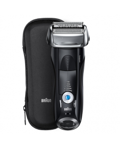 Braun Series 7 Shaver 7840s Wet use, Rechargeable, Charging time 1 h, Li-Ion, Battery powered, Number of shaver heads/blades 1, Black