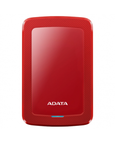 "ADATA External Hard Drive HV300 1000 GB, 2.5 "", USB 3.1, Red"