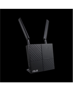 Asus LTE Modem Router 4G-AC53U 802.11ac, 300+433 Mbit/s, 10/100/1000 Mbit/s, Ethernet LAN (RJ-45) ports 2, MU-MiMO Yes, 4G, Antenna type 2xExternal, 1xUSB 2.0, Dual-band, LTE downlink up to 300Mbps, VPN sever, IPv6, Cat 6, AiCloud, AiDisk