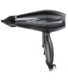 BABYLISS Pro Light 2100 Ion Technology Hair Dryer 6609E Number of speeds 2, Number of temperature settings 3, Ionic function, Motor type AC motor, 2100 W, Black, Yes, Yes, 1, Removable filter, Yes, No