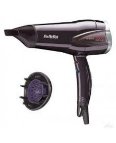 BABYLISS Expert hair dryer D362E Number of speeds 3, Number of temperature settings 3, Ionic function, Motor type DC Motor, 2300 W, Black, Yes, Yes, Yes, 2, Removable filter, Yes, Yes