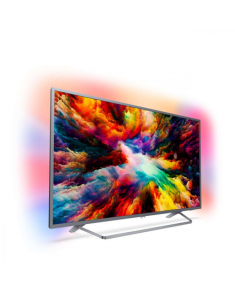 "Philips 43PUS7303/12 43"" (108 cm), Smart TV, UHD Ultra Slim LED, 3840 x 2160 pixels, Wi-Fi, DVB T/C/T2/S/S2, Grey"