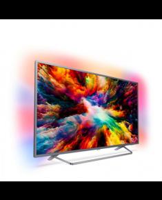 "Philips 50PUS7303/12 50"" (126 cm), Smart TV, Ultra HD Ultra Slim LED, 3840 x 2160 pixels, Wi-Fi, DVB T/T2/C/S/S2, Silver"