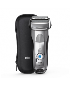Braun Electric Shaver 7893s Wet use, Rechargeable, Charging time 1 h, Li-Ion, Network / battery, Number of shaver heads/blades 4, Silver/ black