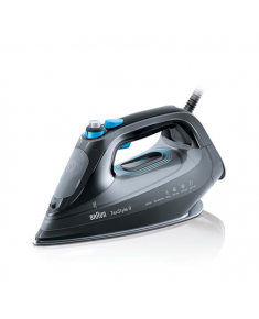 Braun Steam iron SI9188 TexStyle 9 Black, 2800 W, Steam, Continuous steam 50 g/min, Steam boost performance 230 g/min, Auto power off, Anti-drip function, Anti-scale system, Water tank capacity 330 ml