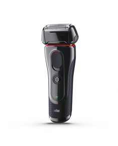 Braun Shaver 5030s Wet use, Rechargeable, Charging time 1 h, Lithium Ion, Battery powered, Number of shaver heads/blades 1, Black
