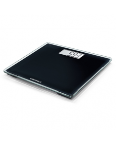 Soehnle Bathroom Scale Style Sense Compact 100 Maximum weight (capacity) 180 kg, Accuracy 100 g, Multiple user(s), Black