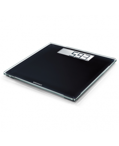 Soehnle Bathroom Scale Style Sense Comfort 400 Maximum weight (capacity) 180 kg, Accuracy 100 g, Multiple user(s), Black