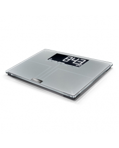 Soehnle Shape Sense Connect 200 Body Analysis Scales, 100 g precise, capacity up to 200kg, LCD Screen, Soehnle Connect app for smartphone, g Soehnle Bathroom Scale Shape Sense Connect 200 Maximum weight (capacity) 200 kg, Accuracy 100 g, Memory function, 8 user(s), Silver glass
