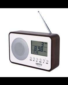 Camry Digital Radio CR 1153 White/woden, 5 W