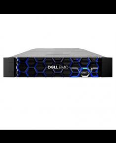 "Dell All Flash Storage Unity 350F Rack (2U), Intel Xeon, 2xE5-2603v4, 1.7 GHz, 6T, 6C, DDR4 DIMM, 2400 MHz, 6x1.92TB SSD, Up to 25 x 2.5"", Hot-swap hard drive bays, Dual, Hot-plug, Redundant Power Supply, 4xSFP+ iSCSI, Rack Rails, Warranty ProSupport Onsite 36 month(s)"