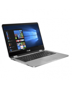 "Asus VivoBook Flip 14 J401MA-EC083TS Light Grey, 14.0 "", Touchscreen, FHD, 1920 x 1080 pixels, Gloss, Intel Celeron, N4000, 4 GB, LPDDR4 on board, Intel HD, Without ODD, Windows 10 S, 802.11 ac, Bluetooth version 4.1, Keyboard language English, Battery warranty 12 month(s)"