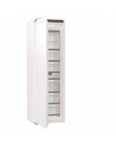 Gorenje Freezer FNI5182A1 Upright, Height 177 cm, Total net capacity 212 L, A++, Freezer number of shelves/baskets 7, Display, White, No Frost system, Built-in