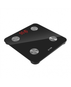 Acme Bluetooth smart scales SC101 Memory function, Body fat analysis, Auto power off, Multiple users, Maximum weight (capacity) 150 kg, Body Mass Index (BMI) measuring