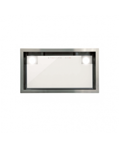 CATA Hood GC DUAL A 75 XGWH Canopy, Energy efficiency class A, Width 79.2 cm, 820 m³/h, Touch control, LED, White glass
