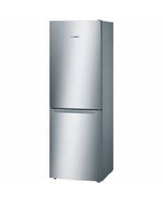 Bosch Refrigerator KGN33NL20 Free standing, Combi, Height 176 cm, A+, No Frost system, Fridge net capacity 192 L, Freezer net capacity 87 L, 42 dB, Stainless steel