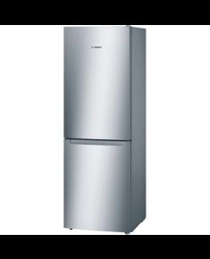 Bosch Refrigerator KGN33NL20 Free standing, Combi, Height 176 cm, A+, No Frost system, Fridge net capacity 192 L, Freezer net capacity 87 L, 42 dB, Stainless steel