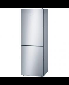Bosch Refrigerator KGV33UL30 Free standing, Combi, Height 176 cm, A++, Fridge net capacity 193 L, Freezer net capacity 94 L, 39 dB, Stainless steel