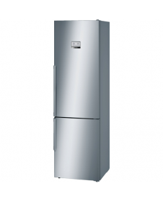 Bosch Refrigerator KGN39AI36 Free standing, Combi, Height 203 cm, A++, No Frost system, Fridge net capacity 279 L, Freezer net capacity 87 L, Display, 41 dB, Stainless steel