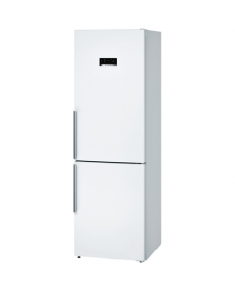 Bosch Refrigerator KGN36XW45 Free standing, Combi, Height 186 cm, A+++, No Frost system, Fridge net capacity 237 L, Freezer net capacity 87 L, 36 dB, White