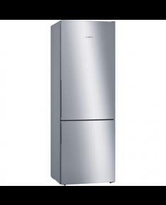 Bosch Refrigerator KGE49VI4A Free standing, Combi, Height 201 cm, A+++, Fridge net capacity 274 L, Freezer net capacity 111 L, Display, 38 dB, Stainless steel