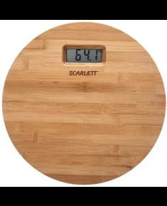 Scarlett Bathroom scales SC - BS33E061 Maximum weight (capacity) 180 kg, Accuracy 100 g, Multiple user(s), Bamboo