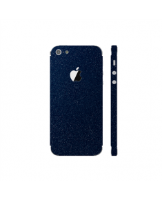 3MK Ferya SkinCase Back cover, Apple, iPhone 5S, Protective foil, Dark Blue