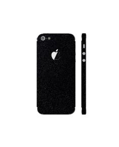 3MK Ferya SkinCase Back cover, Apple, iPhone 5S, Protective foil, Glossy Black