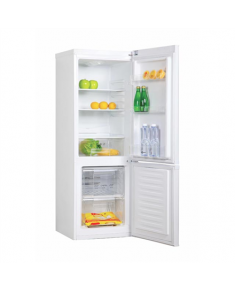 Candy Refrigerator CMFM 5142W Free standing, Combi, Height 144 cm, A+, Fridge net capacity 119 L, Freezer net capacity 42 L, 42 dB, White
